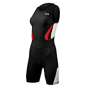 TYR Female Carbon Zipperback Tri Suit