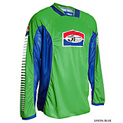 JT Racing Pro Tour Jersey - Green-Blue
