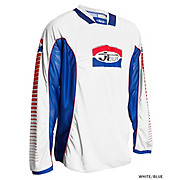 JT Racing Pro Tour Jersey - White-Blue