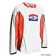 JT Racing Pro Tour Jersey - White-Orange