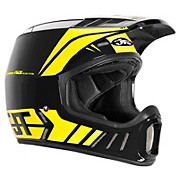 JT Racing ALS2 Full Face Helmet - Black-Yellow 2012