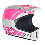 JT Racing ALS2 Full Face Helmet - White-Pink