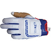 JT Racing Life Line Gloves - White-Blue