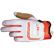 JT Racing Life Line Gloves - White-Orange