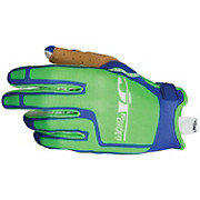 JT Racing Flex Feel Gloves - Green-Blue 2012