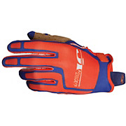 JT Racing Flex Feel Gloves - Orange-Blue