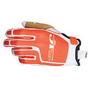 JT Racing Flex Feel Gloves - White-Orange