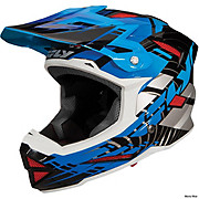 Fly Racing Default Helmet - Black-Blue 2014
