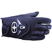 No Fear Proton Gloves - Black-Red