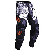 No Fear Spectrum Scratch Pants - Black-Orange