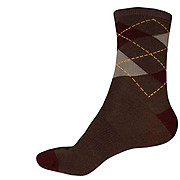 Endura Argyll Sock - Burgundy AW15