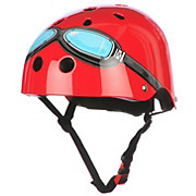 Kiddimoto Red Goggle Helmet