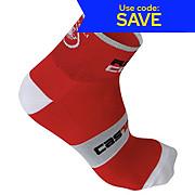 Castelli Rosso Corsa 6 Sock SS14