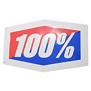100 Metal Sign