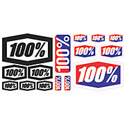 100 Decal Sticker Sheet