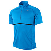 Nike Sphere 1-2 Zip Short Sleeve Top