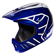JT Racing Evo Helmet - Blue-White 2013