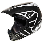 JT Racing Evo Helmet - Black-White 2013