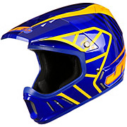 JT Racing Evo Helmet - Blue-Orange 2013