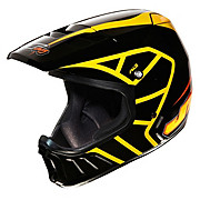 JT Racing Evo Helmet - Black-Orange