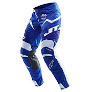 JT Racing Evo Protek Fader Pants - Blue-White 2013