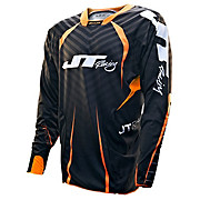 JT Racing Evo Protek Fader Jersey - Black-Orange 2013