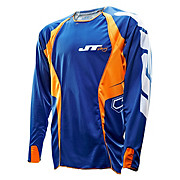 JT Racing Evo Lite Race Jersey - Blue-Orange 2013
