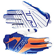 JT Racing Evo Lite Race Gloves - Blue-Orange 2013