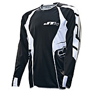 JT Racing Evo Youth MX Jersey - Black-White 2013