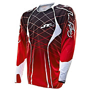 JT Racing Evo Lite Lazer Jersey - Red-White 2013