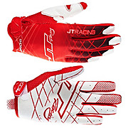 JT Racing Evo Lite Lazer Gloves - Red-White 2013