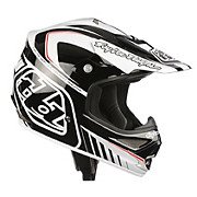 Troy Lee Designs Air Helmet - Delta White-Black 2013
