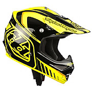 Troy Lee Designs Air Helmet - Delta Yellow-Black 2013