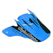 Troy Lee Designs D2 Visor - Delta Blue-Black 2013
