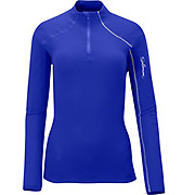 Salomon Womens Fleet II LS 1-2 Zip Tee AW12
