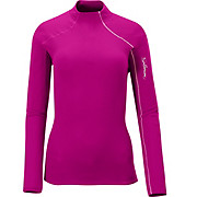 Salomon Womens Fleet II LS Zip Tee AW12