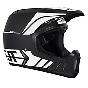 JT Racing ALS2 Full Face Helmet - Black-White 2012