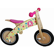Kiddimoto Kurve Balance Bike - Flower