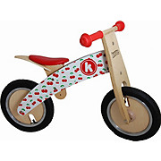 Kiddimoto Kurve Balance Bike - Cherry