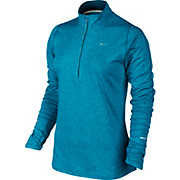 Nike Element 1-2 Zip Womens LS Top SS15