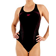 Speedo PowerTurn Placement Kickback Swimsuit