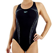 Speedo PowerTurn Placement Kickback Swimsuit SS13