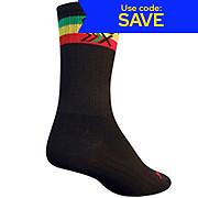 SockGuy 5 SGX Rasta Socks 2013