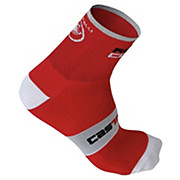 Castelli Rosso Corsa 9 Sock AW15