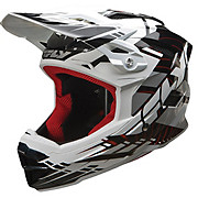 Fly Racing Default Helmet - Black-White 2014