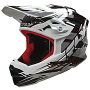 Fly Racing Default Youth Helmet - Black-White 2014