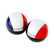 Trik-Topz French Flag Valve Caps