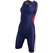 TYR Womens Comp Tri Suit with Back Zip 2013