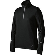 Brooks Essential Run Womens LS 1-2 Zip II SS13