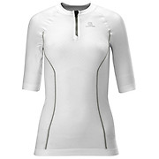 Salomon Exo Motion 1-2 Zip Womens Top